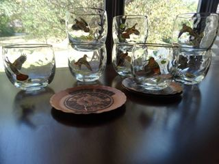 Wildlife Whiskey glasses