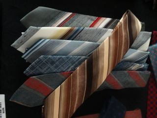 6 various neck ties