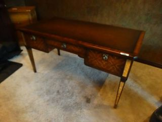 Very fine solid wood John Richard furniture partner desk  Very Expensive