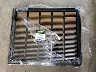 HVAC premium Return Filter Grille 25x20