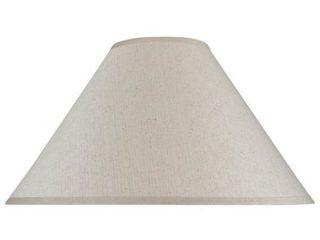 Aspen Creative Hardback Empire Shape Spider Construction lamp Shade in Off White  6  x 19  x 12