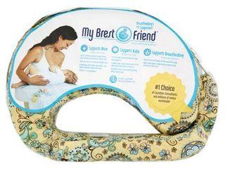 My Brest Friend Original Nursing Pillow   Buttercup Bliss
