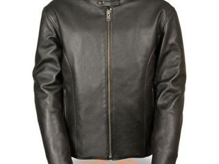 Milwaukee Mens Classic Scooter Jacket W Side Zippers Black 3Xl