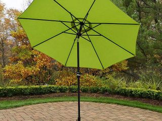 9 ft  Umbrella with Crank and Tilt System lime Green