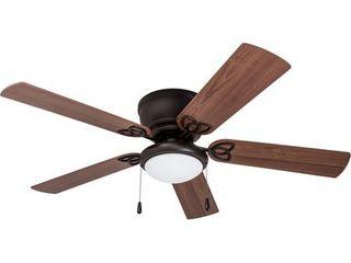 52  Benton Hugger lED Ceiling Fan  Bronze