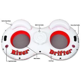 Pittman Outdoors River Drifter 2 Person Float Tube