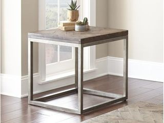 lockwood 24 Inch Square End Table by Greyson living   24 W x 24 D x 24 H Retail 184 49