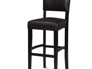 linon Monaco Bar Stool  30 inch Seat Height