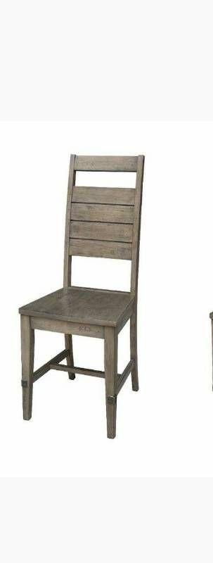 Two Farmhouse Chic Chair