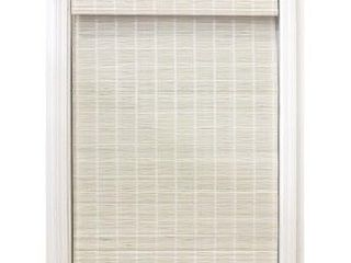 Radiance Bayshore White light Filtering Cordless Roman Shade  Size  34 5 in x 64 in