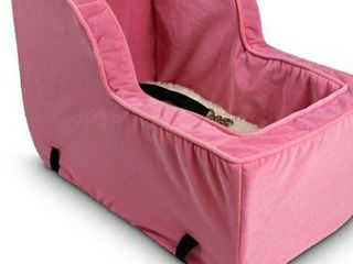 Snoozer Pet Car Seat Bed  Pink