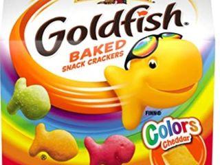 Pepperidge Farm Goldfish Colors Cheddar Crackers  2 oz  Carton  Pack of 48