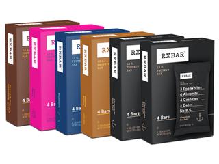 RXBAR Variety Pack Whole Foods Protein Bar Gluten Free 24 Ct
