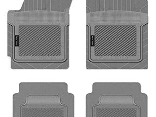 Gray Custom Car Mats 4 Piece Set