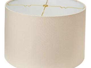 Royal Designs light Beige Premium Hard Back lampshade