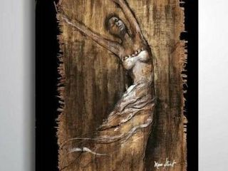 Graceful Motion II Gallery Wrapped Canvas
