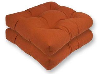 Austin Horn Classics SunbrellaAr Spectrum Reversible Chair Cushion  set of 2    16 x 16 x 3
