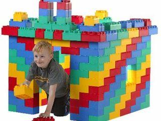 Kids Adventure 192 piece Building Construction Jumbo Blocks Set