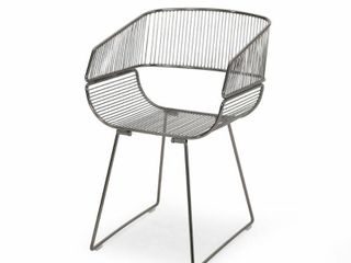 lipscomb Modern Glam Iron Dining Chair