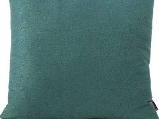 Christopher Knight Home Saskia Fabric Pillows  2 Pcs Set  Dark Teal