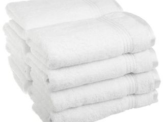 Impressions Derry Solid 100  Cotton 8 Piece Hand Towel Set