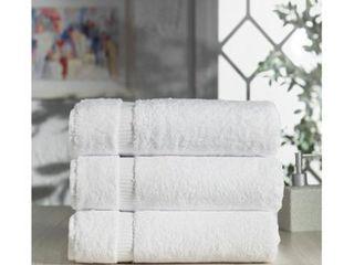 Royal Turkish Towel Cambridge Turkish Cotton Bath Towel  2 sets Set of 3