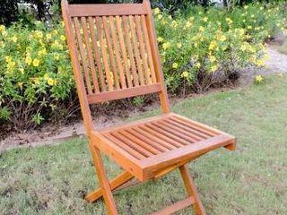 International Caravan Royal Fiji Folding Dining Chair  Set or 2