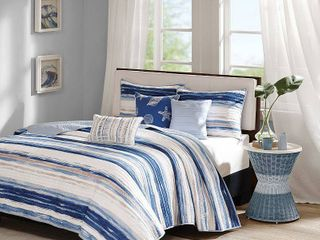 Home Essence Fairbanks Quilted Coverlet Set