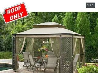 Sunjoy Replacement Canopy set  Deluxe  for l GZ278PST 1 lattice Panel Gazebo ROOF ONlY