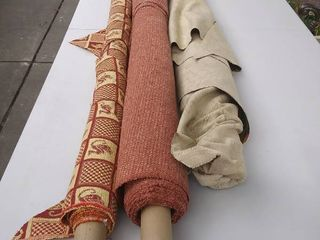 3 Roll of Upholstery Fabric