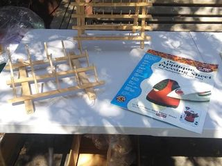 2 June Tailor sewing stands and As Seen On TV Thr Applique Pressing Sheet and Multipupose Craft Sheet
