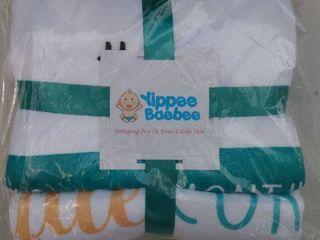 Yippee Barber Milestone Blanket  1st year