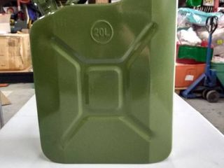 Jerry can 20l army green metal gas can