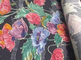 roll of decorator fabric