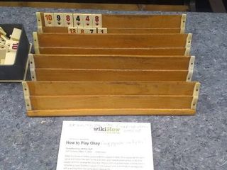 Vintage Star Okey Tile Game Set