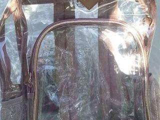 NiceBag Clear Transparent Backpack