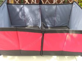 Collapsible Organizer Good for Trunk  Back Seat  and More