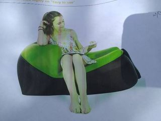 Quickly Inflatable Chair Air Couch