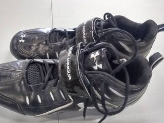 Pair of Under Armour Cleats Size 14 Men s