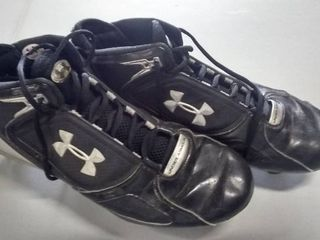 Pair of Under Armour Cleats Size 13 5