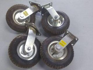 Set of Caster Tires