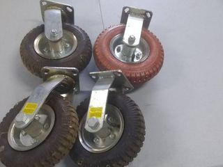 Set of 4 Caster Tires