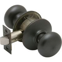 lot of 8 Schlage F10PlY613 Plymouth Passage Knob  Oil Rubbed Bronze