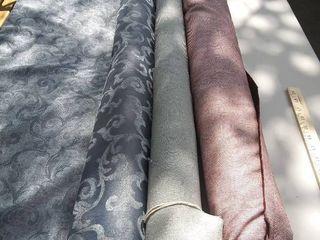 Roll of Upholstery Fabric velvet