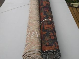 2 Roll of Upholstery Fabric