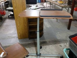 Adjustable Desk on Wheels