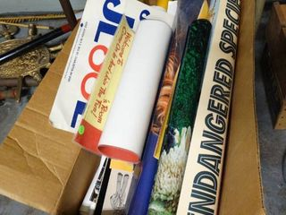 large lot of Posters