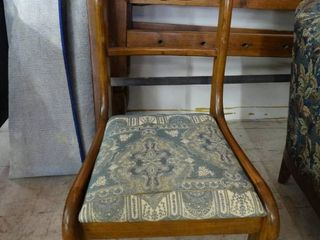Chair w  Upholstered Seat