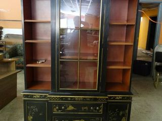 Beautiful Oriental Themed Cabinet