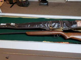 Vintage TargetMaster  22 short  long or long rifle  wood stock rifle